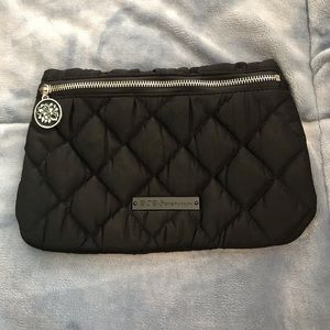 BCBGENERATION Quilted Black Clutch